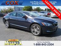 This 2017 Buick LaCrosse Essence in Dark Sapphire Blue