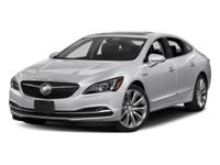 Options:  2017 Buick Lacrosse Essence|White/|V6 3.6L