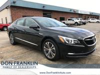 Clean CARFAX. Dark Forest Green Metallic 2017 Buick