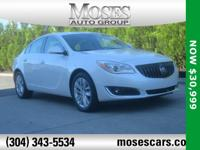 White Frost 2017 Buick Regal AWD 6-Speed Automatic 2.0L