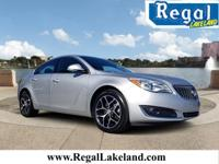 Silver 2017 Buick Regal Turbo FWD 6-Speed Automatic