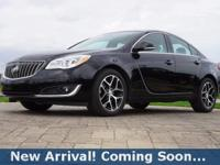 2017 Buick Regal Turbo in Black Onyx, This Regal comes