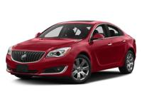 2017 Buick Regal Turbo in Silver and GM Certified. GM