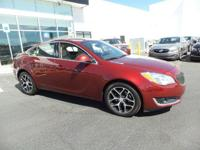 Boasts 29 Highway MPG and 21 City MPG! This Buick Regal
