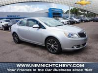 FUEL EFFICIENT 31 MPG Hwy/21 MPG City! Buick Certified,