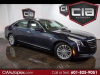 THIS 2017 CADILLAC CT6 IS WELL EQUIPPED 2.0L TURBO
