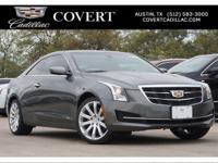 Athletic and expressive, the Cadillac ATS exquisitely