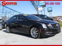Black 2017 Cadillac ATS 2.0L Turbo Luxury RWD 8-Speed