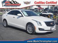 CARFAX 1-Owner, Cadillac Certified, ONLY 2,039 Miles!