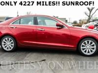 2017 Cadillac ATS 2.0L Turbo!! ONLY 4227 ON THE MILES!!