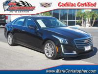 Cadillac Certified. Nav System, Moonroof, Heated/Cooled