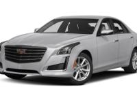 Blue 2017 Cadillac CTS 2.0L Turbo Luxury AWD 8-Speed