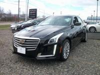 Black 2017 Cadillac CTS 3.6L Luxury AWD 8-Speed