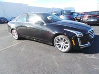 This is the new 2017 Cadillac CTS 3.6L Luxury AWD sedan