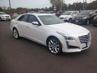 Crystal White Tricoat 2017 Cadillac CTS 3.6L Premium
