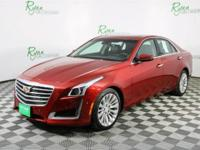 Red 2017 Cadillac CTS 3.6L Premium AWD 8-Speed