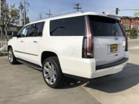 Options:  2017 Cadillac Escalade Esv Luxury|Crystal