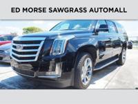 CARFAX 1-Owner, Cadillac Certified. Luxury trim. Nav