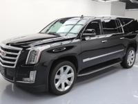 This awesome 2017 Cadillac Escalade 4x4 comes loaded