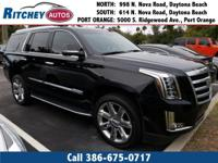 LOCALLY OWNED 2017 CADILLAC ESCALADE LUXURY 4WD**CLEAN