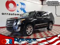 Recent Arrival!  2017 Cadillac Escalade Luxury Black