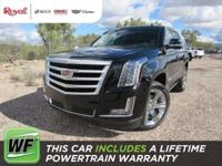 The 2017 Cadillac Escalade represents a beautiful