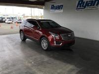 CARFAX One-Owner. Clean CARFAX. Red 2017 Cadillac XT5