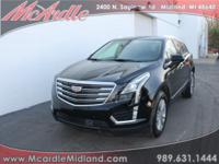Clean CARFAX. Black Metallic 2017 Cadillac XT5 Luxury