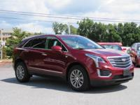 CARFAX One-Owner. Red 2017 Cadillac XT5 Luxury AWD