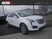 Used Cadillac XT5, options include: a Panoramic Moon