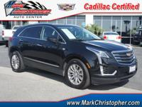 CARFAX 1-Owner, Cadillac Certified. EPA 27 MPG Hwy/19