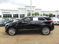 Options:  2017 Cadillac Xt5 Platinum Awd|Stellar Black