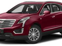 Certified. Red Passion Tintcoat 2017 Cadillac XT5