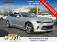 This 2017 Chevrolet Camaro 1LT in Silver Ice Metallic