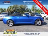 New Price! Certified. This 2017 Chevrolet Camaro 2LT in