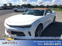 This new Chevrolet Camaro 2LT is now for sale in San