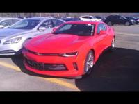 Special Pricing on this Factory Program Camaro with RS