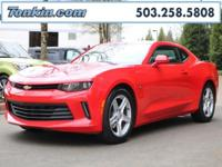 2017 Chevrolet Camaro 1LT Red 3.6L V6 DI One Owner.