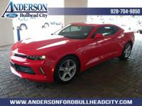 Red 2017 Chevrolet Camaro 1LT RWD 8-Speed Automatic