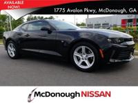Come see this 2017 Chevrolet Camaro LT. Its Automatic