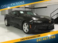 Options:  2017 Chevrolet Camaro Lt|Black|Jet Black|3.6L