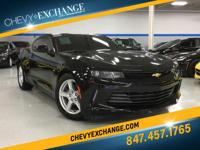 Options:  2017 Chevrolet Camaro Lt|Black|2.0L 4
