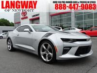 Recent Arrival! 2017 Chevrolet Camaro SS CARFAX