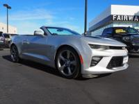 Come see this 2017 Chevrolet Camaro SS. Its Automatic