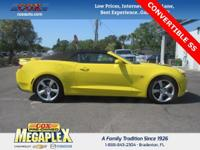 This 2017 Chevrolet Camaro SS in Yellow is well