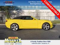 New Price! This 2017 Chevrolet Camaro SS in Bright