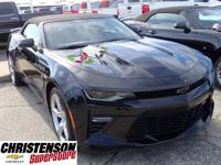 2017+Chevrolet+Camaro+SS+In+Black.+ABS+brakes+Alloy+whe