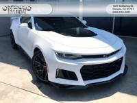 Options:  Preferred Equipment Group Zl1|9