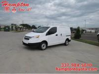 This 2017 Chevrolet City Express Cargo Van LS is