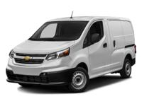 2017 Chevrolet City Express 1LS 26/24 Highway/City MPG